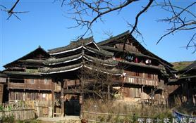 湖北少数民族传统村落空间形态
